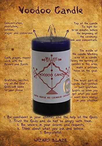 """Voodoo Candle""""Finde einen Ausweg aus einer schwierigen Situation"""" V -26"""