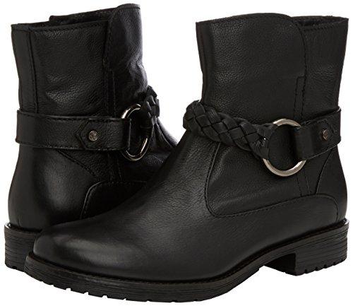 Marc Shoes Massa, Bottes de motard courtes, doublure froide femme Noir - Schwarz (black 100)