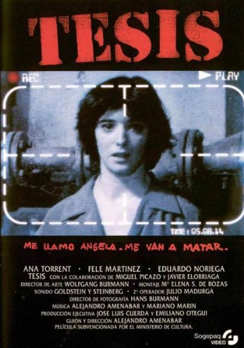 Tesis Blu-Ray [Blu-ray]