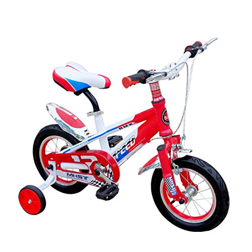 Bicyclette Pour Enfants Mountain Bike Boys Girls Balance Bike Child Learning Training Cycle ( Color : Red 12 inch )