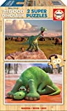 Educa 15917 - Puzzle, The Good Dinosaur, 2x 50, mehrfarbig