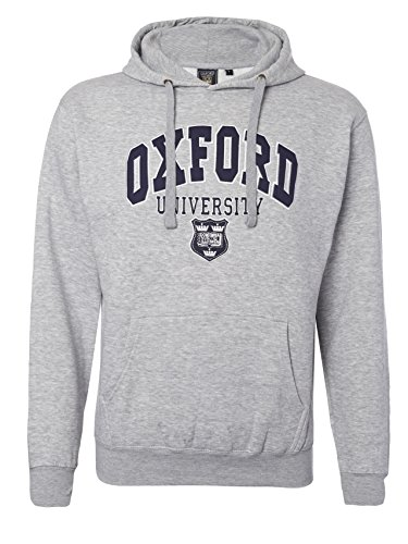 Oxford University - Felpa GREY-MELANGE small