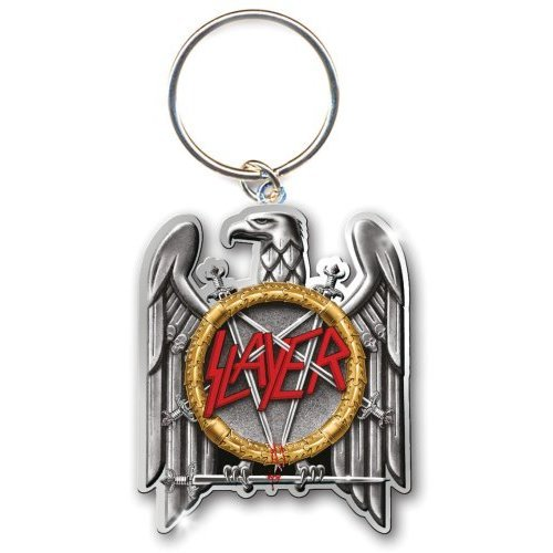 Slayer-Portachiavi-Portachiavi 5cm argento Eagle