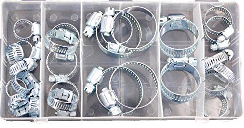 Worm-drive-motoren (26-teiliges Verstellbare Schlauchschelle Sortiment Bremsleitungen Motor Rohre Automotive darüber Schraube Worm Drive Gear)
