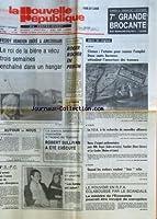 FREDDY HEINEKEN LIBERE A AMSTERDAM - ROGER ROCHER EN PRISON - LA JUSTICE AMERICAINE INSENSIBLE A L'APPEL DU VATICAN / ROBERT SULLIVAN A ETE EXECUTE - JACQUES ET MARTINE BOSSU / LES KARENS ONT RAISON - LE POUVOIR EN RFA ECLABOUSSE PAR LE SCANDALE - QU...