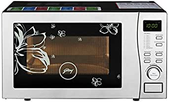 Godrej 19 L Convection Microwave Oven (GMX 519 CP1, White Rose)