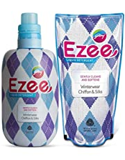 Godrej Ezee Liquid Detergent - Winterwear, Chiffon & Silks (1kg bottle + 1kg refill)