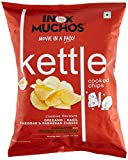 #2: Inox Muchos Kettle Cooked Chips with Cheddar, Parmesan Cheese Basil Oregano, 60g