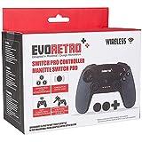 EVORETRO Wireless Controller für Nintendo Switch - PC Switch Android Pro Controller Kabelloser, Drahtloser Bluetooth Gamepad