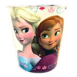 Reine des Neiges [L8029] - Poubelle 'Frozen - Reine des Neiges' blanc multicolore
