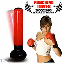 Trade Shop–Saco hinchable Boxing Torre Jumbo Box Punching Soft Tower Kárate fitboxe 160cm
