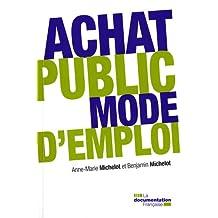 Achat public : mode d'emploi