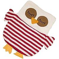 1L Wärmflasche Klassische Premium Hot Rubber Bag mit Soft Cover, Eule, A2 preisvergleich bei billige-tabletten.eu