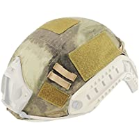 Oarea wosport rápido casco para Airsoft táctico militar camuflaje casco cubierta, AT