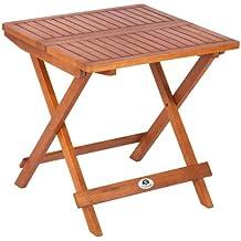 Mesas plegables madera - Amazon mesas de jardin ...