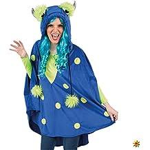 24eacb965c Orlob Handelsgesellschaft Damen Monsterkostüm Gr. 36- 46 Kleid blau Kostüm  Monster Fantasy Märchen