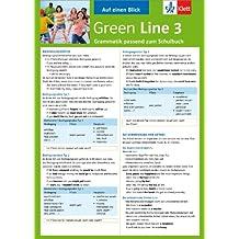 Green Line 3 - Auf einen Blick: Grammatik passend zum Schulbuch - Klappkarte (6 Seiten)