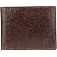 Escaro Royale High Quality Leather Brown Textured Luxury Men's Wallet