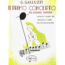 CARISCH GALLUZZI G. - PRIMO CONCERTO GIOVANE PIANISTA VOL. 1 - PIANO 4 MAINS Classical sheets Piano
