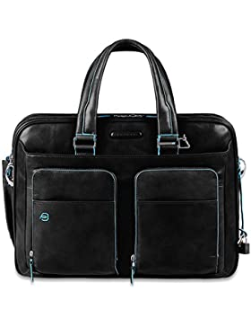 Piquadro Blue Square Aktentasche Leder 41 cm Laptopfach