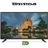 Televisores led Full HD 40 Pulgadas TD Systems K40DLM7F (Resolución 1920x1080/ HDMI x3/ VGA x1/ Eur x1/ USB Reproductor y Grabador) TV, Televisiones HD