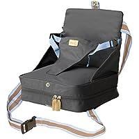 roba Boostersitz in blau, mobiler aufblasbarer Kindersitz als Sitzerhöhung und Reisesitz, ideal als Hochstuhl für unterwegs für Babys & Kleinkinder