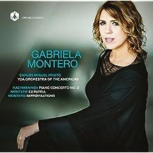 Rachmaninov: Piano Concerto No. 2, Op. 18 - Montero: Ex Patria, Op. 1 & Improvisations by Gabriela Montero (2015-08-03)
