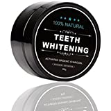 ALINICE Health All Natural Activated Charcoal Teeth Whitening Powder - Safe Effective Tooth Whitening Powder