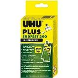 UHU 456301 tweecomponentenlijm plus eindvast, 163 g