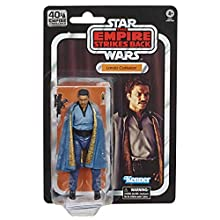 Star Wars The Black Series Lando Calrissian 6 Inch Scale Star Wars: The Empire Strikes Back 40th Anniversary Collectible Action Figure