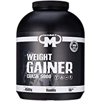 Mammut - Weight Gainer Crash 5000 Vanille Kohlenhydrate Masseaufbau Kreatin, 4500 g Dose preisvergleich bei fajdalomcsillapitas.eu
