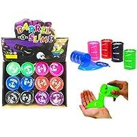 Spielzeug Spielzeug & Modellbau (Posten) 8 x Öl Schleim Neon in Tonne Slime im Ölfass Glibberschleim Slimey Halloween GrS