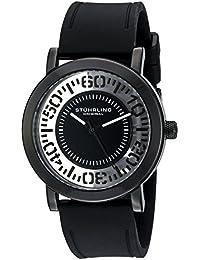 Stuhrling Original Reloj de cuarzo Man 830.03 Negro 42.0 mm