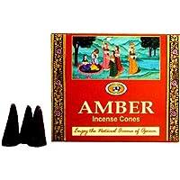 Räucherkegel Amber - Darshan - Indisches Räucherwerk preisvergleich bei billige-tabletten.eu