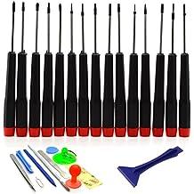 ACENIX® herramienta de reparación Kit 27 en 1 destornillador y herramienta Set para MacBook Pro, Air, Retina