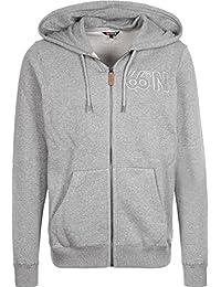 66° North logn con cremallera Sudadera con capucha para hombre con cremallera Sudadera, otoño/invierno, hombre, color Gris - gris, tamaño L