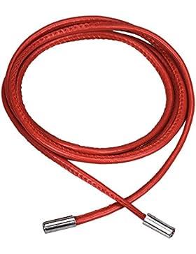 TuArmarioDeComplementos Cinturón Cuerda Rojo