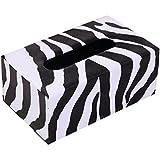 Tissue Dispenser Box rectángulo tejido caja de la tapa titular de la servilleta decorativa