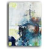 Handgemaltes abstraktes Acrylbil