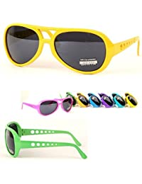 RETRO ELVIS STYLE HIGH SOCIETY PARTY EMECO SONNENBRILLE CS193NEON