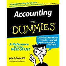 Accounting for Dummies (Serial) by John A. Tracy (1997-05-01)