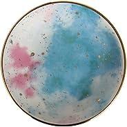 Porland Cosmos Desen6 Çok Amaçlı Mini Tabak 10cm, Porselen