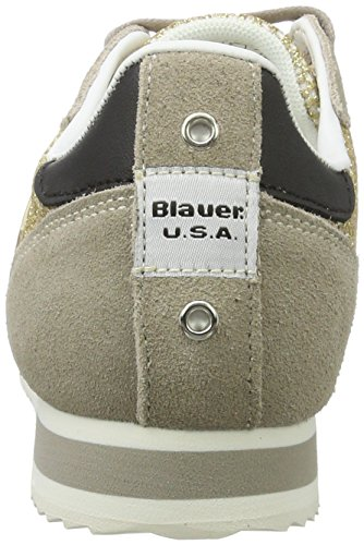 Blauer USA Bowling, Sneakers basses femme Beige