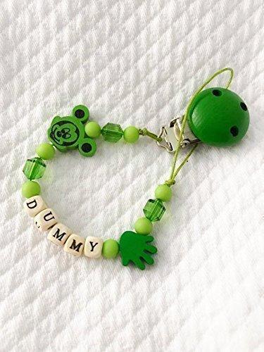 catenella-portaciuccio-di-topolino-disney-e-mano-con-nome-personalizzabile-verde-soothie-pacifier-cl