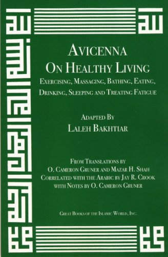 Avicenna on Healthy Living: Exercising, Massaging, Bathing, Eating, Drinking, Sleeping, and Treating Fatigue (Canon of Medicine)