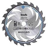 kwb 584354 AKKU-TOP Energy-Saving Kreissäge-Blatt Easy Cut, Ø 160 x 16 mm Dünn-Schnitt mit Spezial-Wechselzahn 20 Zähnen Z20