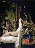 Reproduccion pintada a mano/Pintura al oleo - 15 x 20 inches / 38 x 51 CM - Eugène Delacroix - Louis d'Orléans Showing his Mistress
