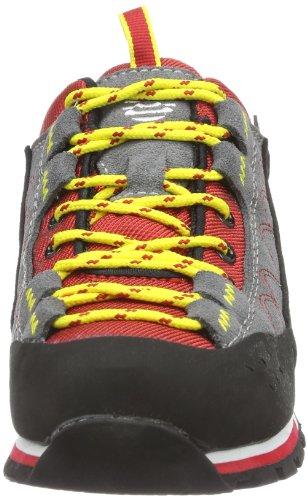 Alpina 680273 Unisex-Erwachsene Trekking & Wanderschuhe Rot (Rot/Schwarz)