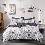 Bettwäsche für das ältere Schlafzimmer, Herbst und Winter, schöne Bettwäsche, Obstset mit vier oder vier Heißluftgarnituren UK-Single