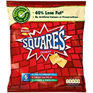 Walkers Squares - Variety (6x22g)